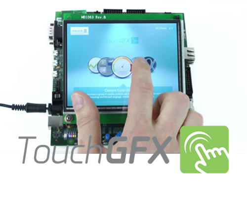 Basics of UI development with TouchGFX based on STM32