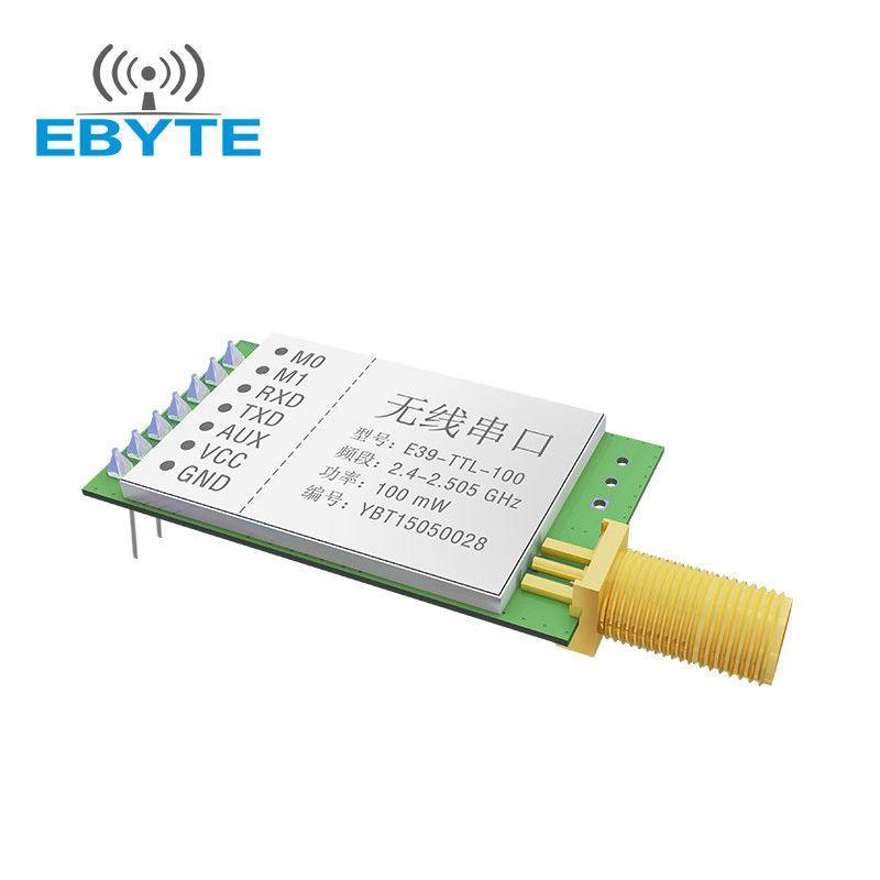 2 4ghz E34-2G4D20D full duplex 2km UART 2 4GHz wireless transmitter