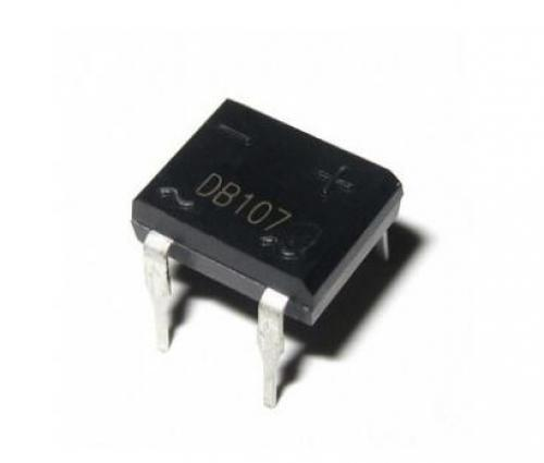 10pcs, db107, dip4, dip, db107s, sop4, sop, smd, 1a, 1000v, single, phases, diode, rectifier, bridge