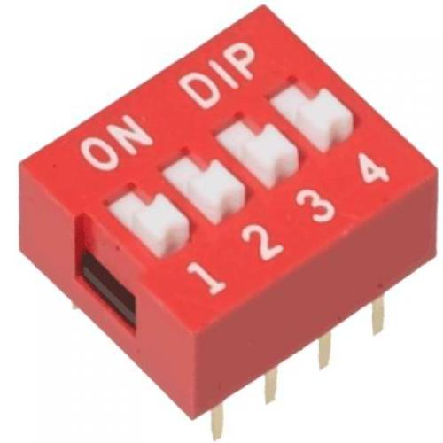 4, position, dip, switch
