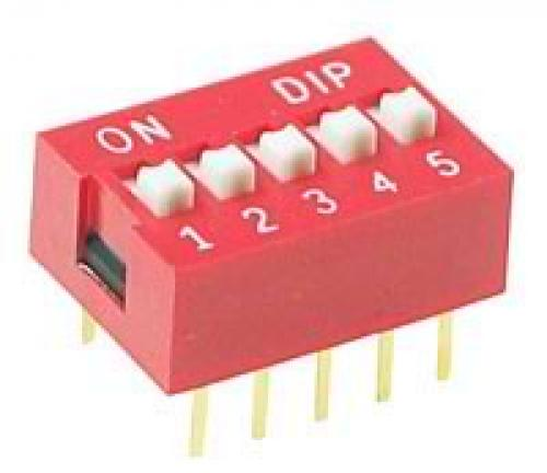 5, position, dip, switch