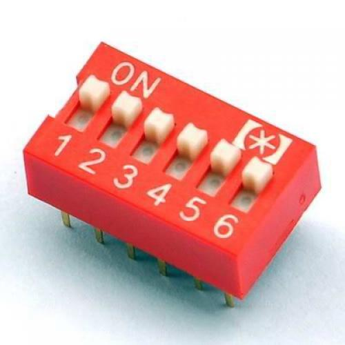 6, position, dip, switch
