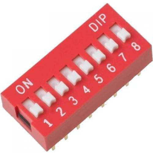 8, position, dip, switch
