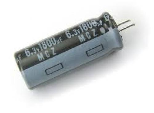 Capacitor 1800 uf 6 3 volt electrolytic
