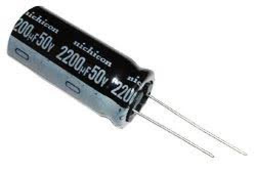 Capacitor 2200 uf 50 volt electrolytic