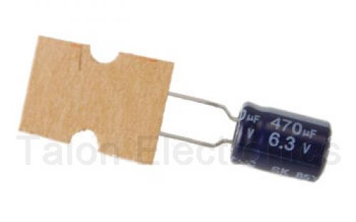 Capacitor 470 uf 6 3 volt electrolytic