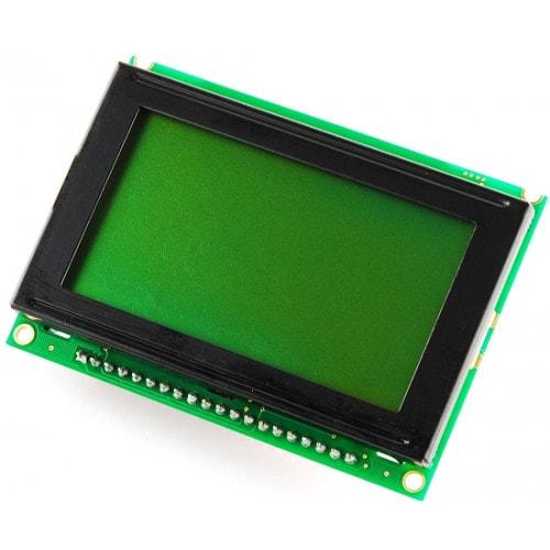 Graphical, lcd, 64x128, green, 1