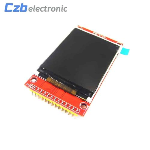 Lcd, 2 2, inch, tft, display, 128x160, break, out, board, with, micro, sd, and, spi, interface, st7735s,  avr, stm32, arm, 8, 16, bit, 1