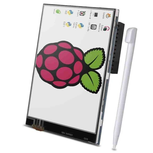 Lcd, 3 5, inch+touch, and, pen, for, raspberry, pi