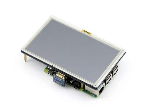 Lcd, 5, inch, with hdmi, for raspberry, pi+touch+cd, and, user, manual, 3