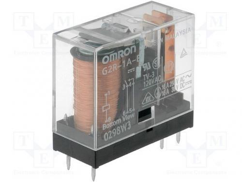 Relay 24v omron g2r, 1 16a glass package