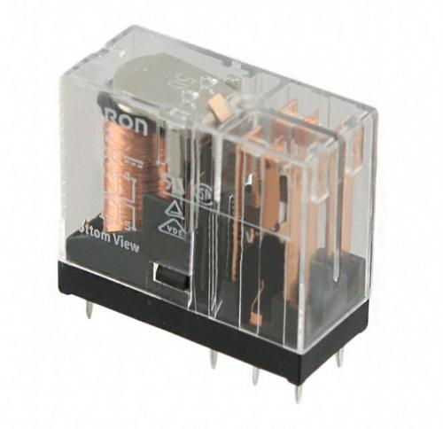 Relay 5v omron g2r, 2 glass package