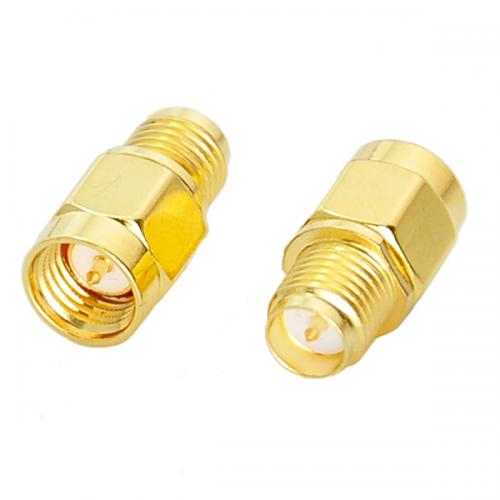 Sma male to rp, sma female rf coaxial adapter connector